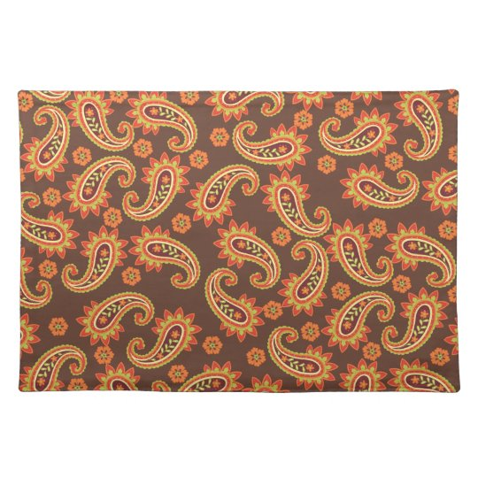 Dainty Paisley Print Placemat
