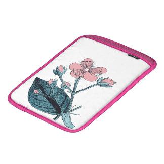 Dainty Pink Floral iPad Sleeve