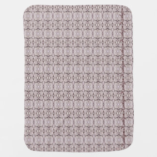 Dainty Pink Roses Pattern Swaddle Blankets