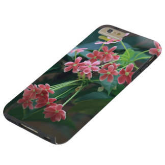 Dainty Pink Spring Flowers Tough iPhone 6 Plus Case