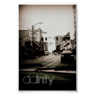 Dainty Poster