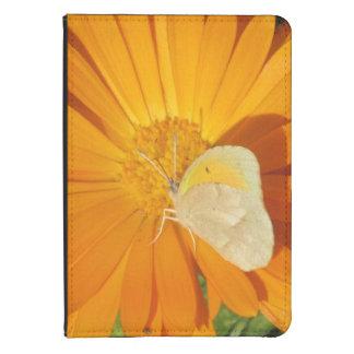Dainty Sulphur Butterfly on Golden Flower Kindle Case