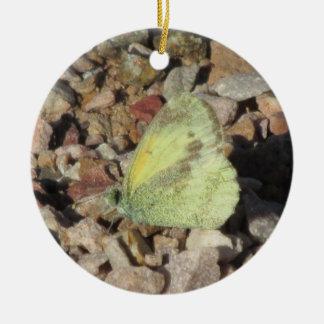 Dainty Sulphur Butterfly Ornament