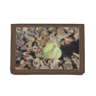 Dainty Sulphur Butterfly Tri-fold Wallet
