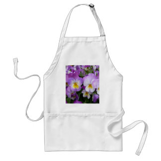 Dainty Violas Adult Apron