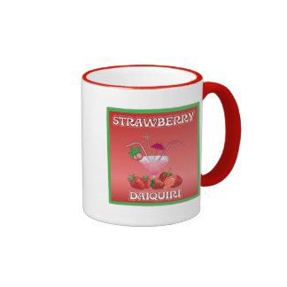 Daiquirí de fresa taza de dos colores