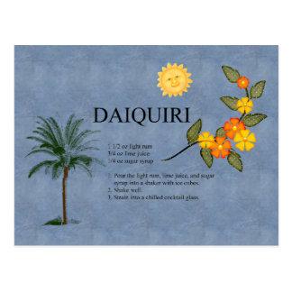 Daiquiri Postcard