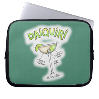 DAIQUIRI RECIPE COCKTAIL ART LAPTOP SLEEVE