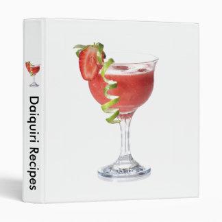 Daiquiri Strawberry Avery Binder