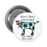 Dairy Christmas Button