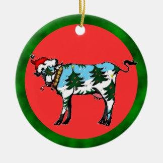 Dairy Christmas Ornament