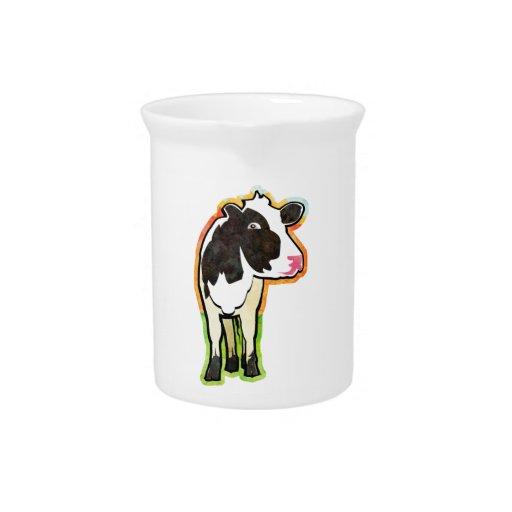 Dairy Cow Beverage Pitchers
