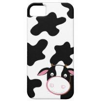 Dairy Cow Black & White iPhone 5 Case