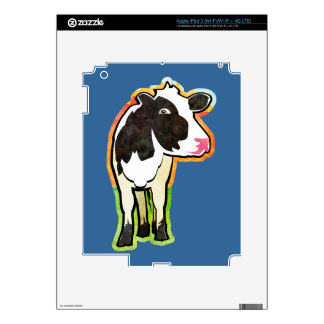 Dairy Cow Decal For iPad 3