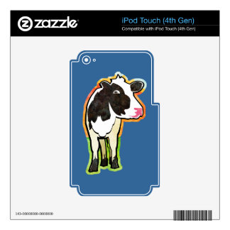 Dairy Cow Decals For iPod Touch 4G