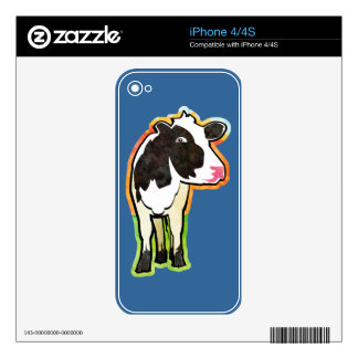 Dairy Cow iPhone 4 Skin