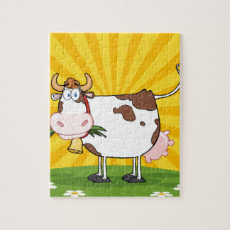 Dairy Cow Jigsaw Puzzle