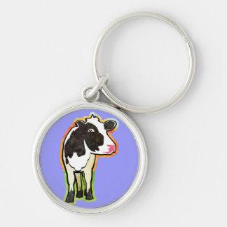 Dairy Cow Key Chain