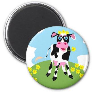 Dairy Cow Refrigerator Magnet