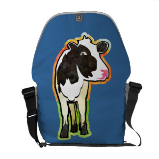 Dairy Cow Messenger Bag