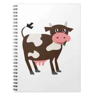 Dairy Cow Spiral Notebooks