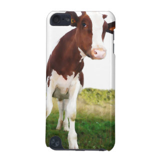 Dairy Cow -  Painted Brown & White Holstein iPod Touch 5G Case