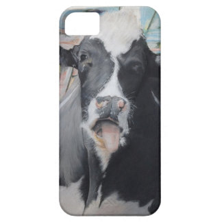 DAIRY COW Pastel Drawn Cow Case (iPhone 5)