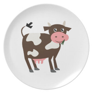 Dairy Cow Dinner Plates