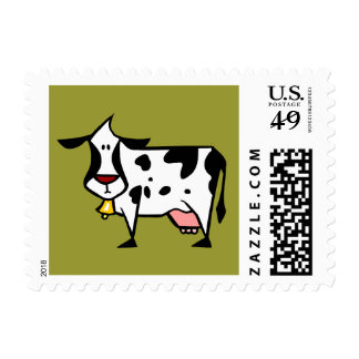 Dairy Cow Postage Stamps (SMALL)
