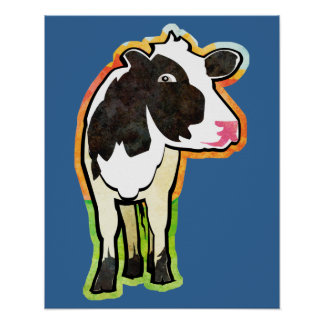 Dairy Cow Poster