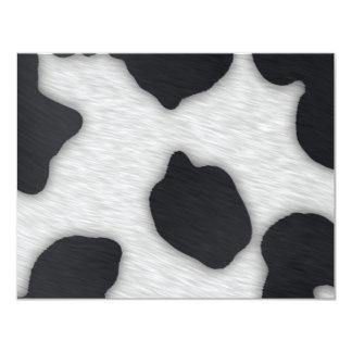 Dairy Cow Print Card