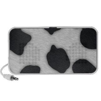 Dairy Cow Print Laptop Speaker