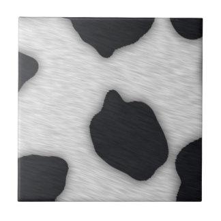 Dairy Cow Print Tile