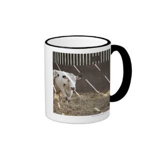 Dairy cow ringer mug