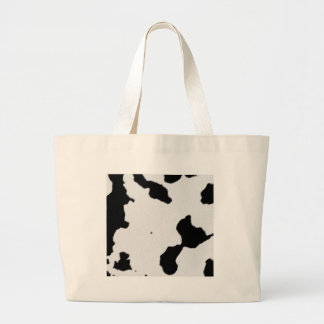 Dairy Cow Skin Tote Bag