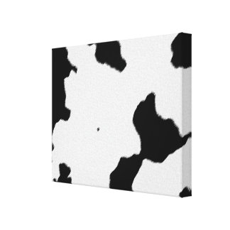 Dairy Cow Skin Canvas Print