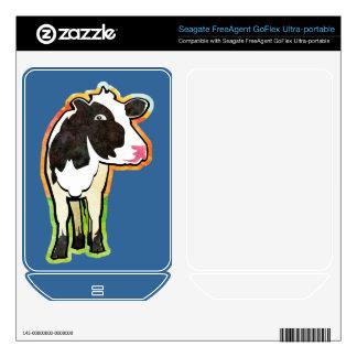 Dairy Cow Skin For FreeAgent GoFlex