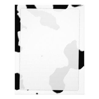 Dairy Cow Skin Letterhead