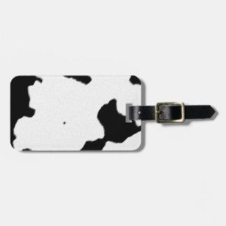 Dairy Cow Skin Travel Bag Tag