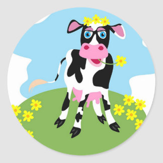 Dairy Cow Sticker