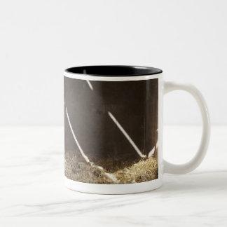Dairy cow Two-Tone coffee mug