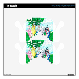 Dairy Cows Wearing Street Clothes PS3 Controller Skins