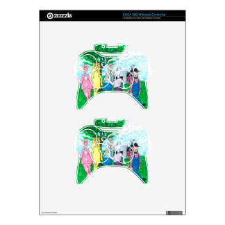 Dairy Cows Wearing Street Clothes Xbox 360 Controller Decal