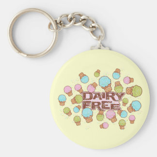 Dairy Cream Ice Cream Keychain