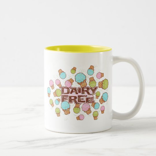 Dairy Cream Ice Cream Two-Tone Coffee Mug