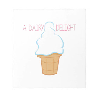 Dairy Delight Memo Pad