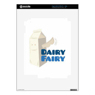 Dairy Fairy Decals For The iPad 2