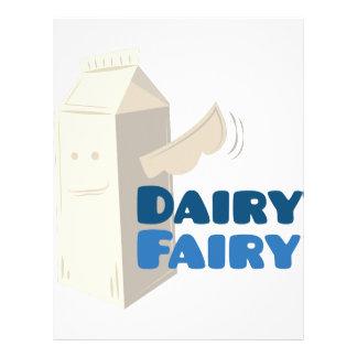 Dairy Fairy Letterhead
