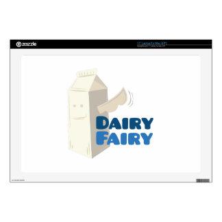 """Dairy Fairy Skin For 17"""" Laptop"""