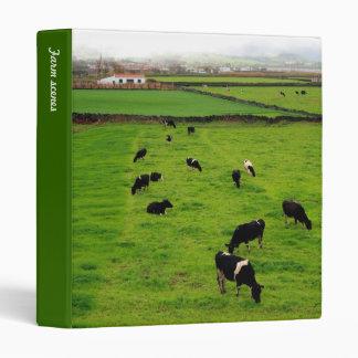 Dairy Farm Vinyl Binder